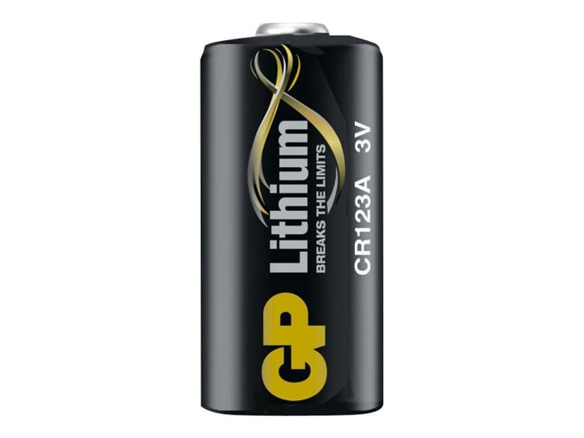 GP Batteri Lithium CR123A-C1 3V