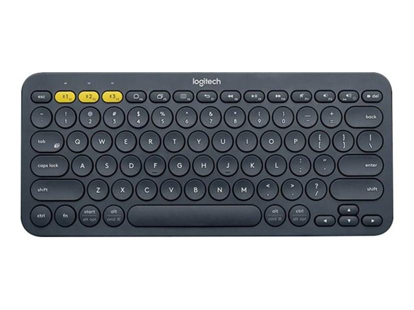 Logitech K380 Trådløs Tastatur Hollandsk Sort
