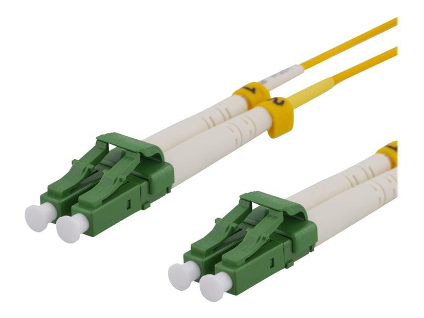 Deltaco Netværkskabel LC/APC LC/APC OS2 1m