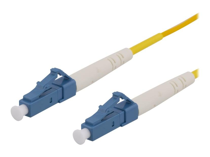 Deltaco Nätverkskabel LC/UPC LC/UPC OS2 10m