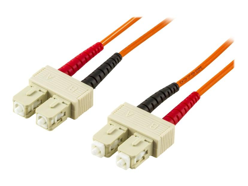 Deltaco Netværkskabel SC/UPC SC/UPC OM1 20m