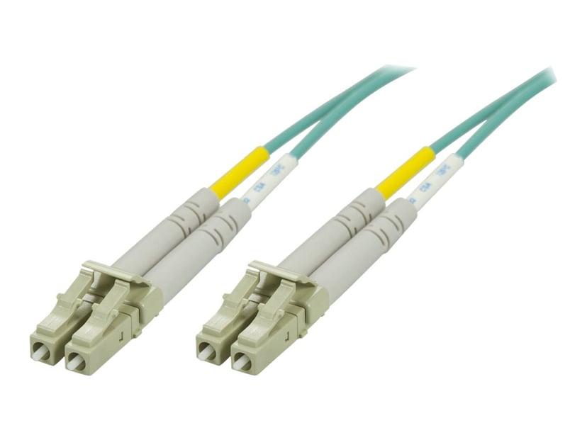 Deltaco Nettverkskabel LC/UPC LC/UPC OM3 25m