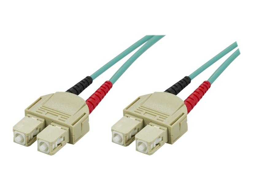 Deltaco Nettverkskabel SC/PC SC/PC OM3 10m