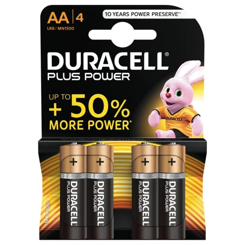 Duracell Batteri Ultra Power AA 4 stk