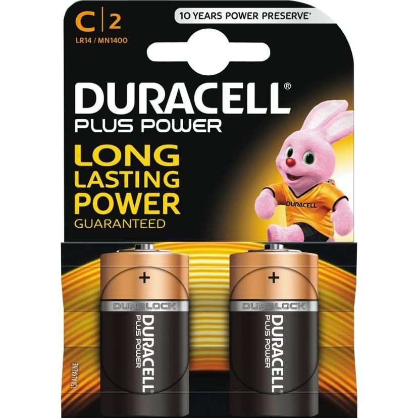 Duracell Plus Power C 2 stk.