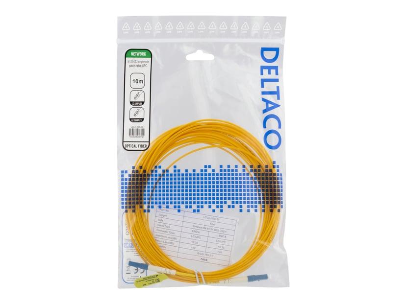 Deltaco Netværkskabel LC/UPC LC/UPC OS2 10m
