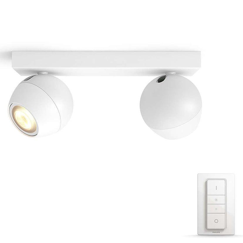 Philips Hue Buckram White Ambiance 2X5,5W Hvit