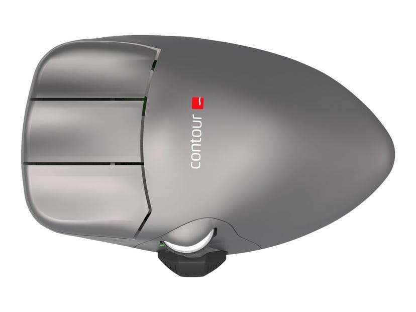 Contour Design Contour Mouse Wireless Large 2,800dpi Hiiri Langaton Harmaa