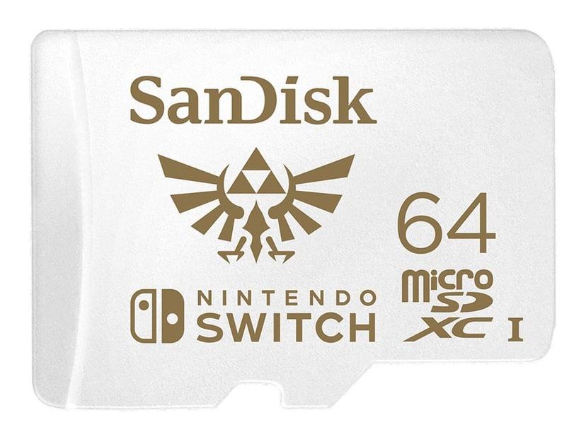 SanDisk Nintendo Switch 64GB microSDXC UHS-I-geheugenkaart
