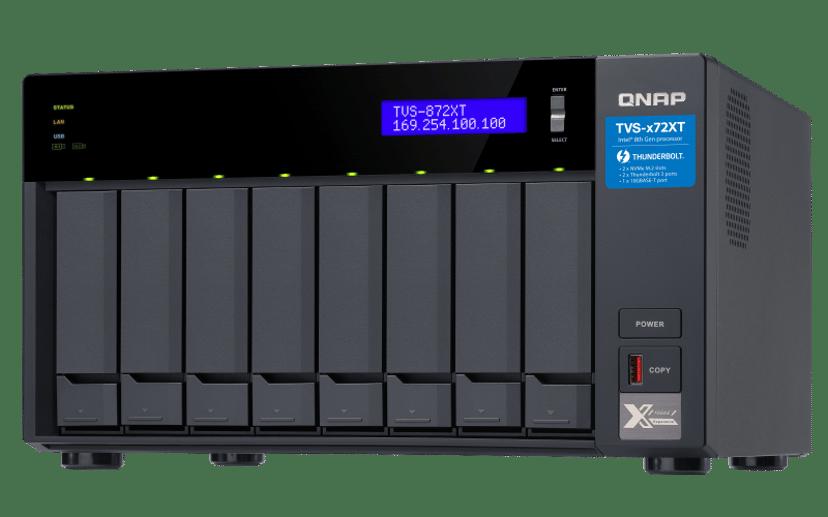 QNAP TVS-872XT 0TB NAS-server