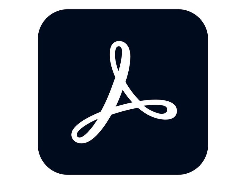Adobe Acrobat Pro DC for teams Teamlicensabonnemang - nytt Månatlig