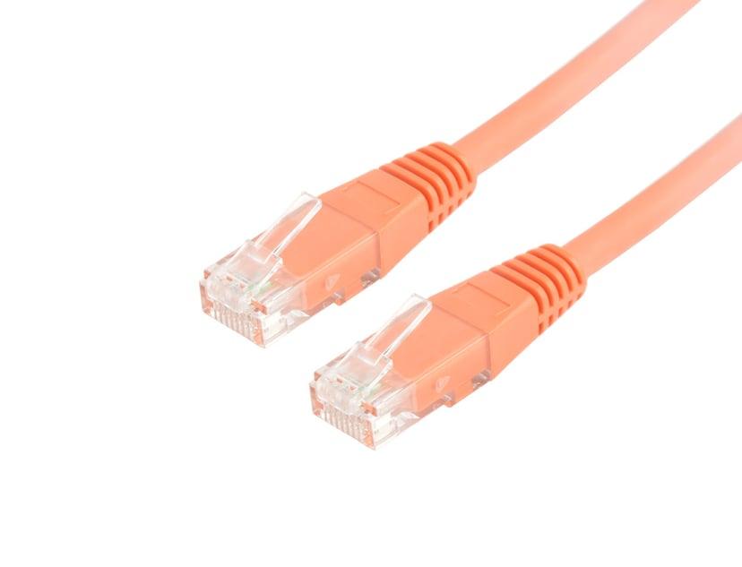 Prokord Network cable 10pcs RJ-45 RJ-45 CAT 6 1.5m Oranje