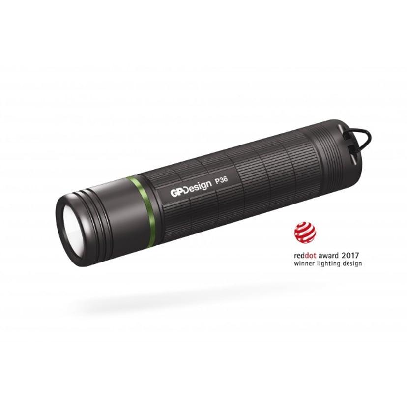 GP Design Ficklampa P36 Polaris 300 lumen