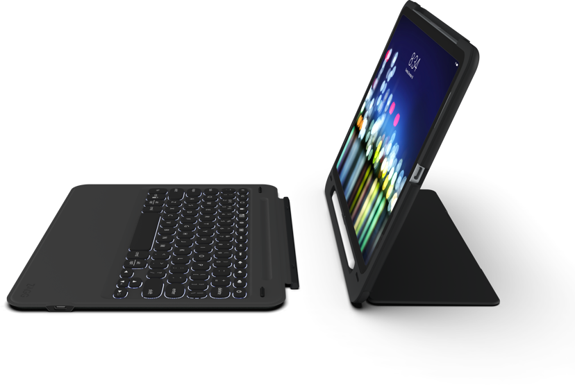 "Zagg Slim Book Go Keyboard Apple iPad Pro 11"" Black Nordic"