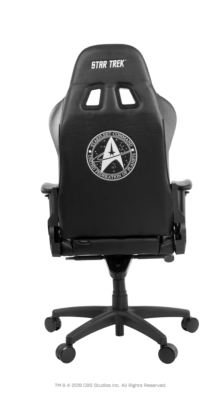 Arozzi Star Trek Edition Gaming Stol - Svart
