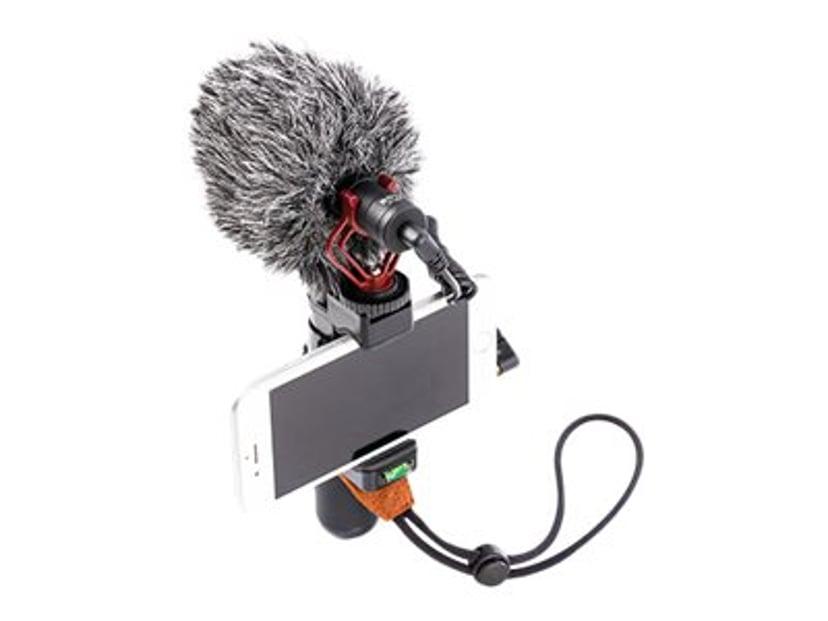 Boya BY-MM1 Condensator Microphone For Cameras Grå, Svart