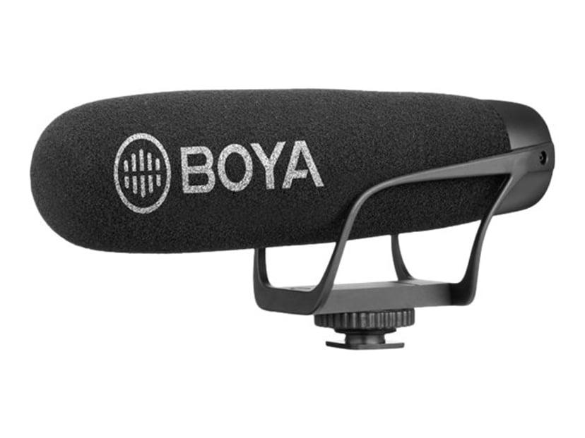 Boya BY-BM2021 Condensator 3.5mm Svart