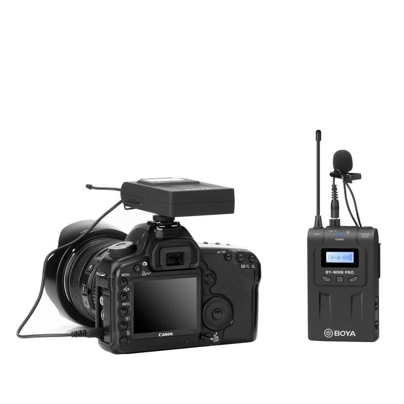 Boya Pro-K1 Wireless Receiver + Transmitter + Microphone Svart