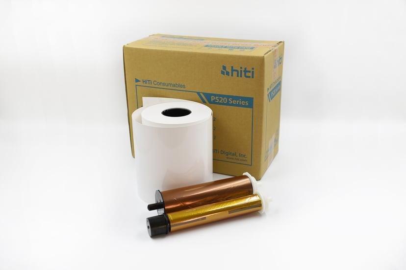 Hiti Ribbon/Paper G2 10x15 1000 Prints - P520L/P525L