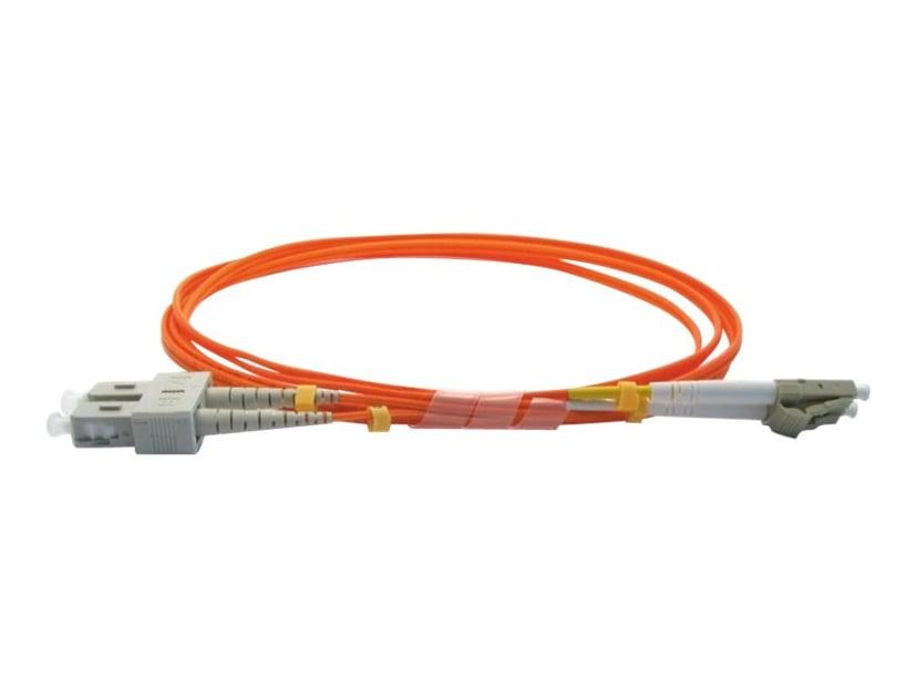 Pro Optix Koblingskabel SC/UPC LC/UPC OM1 2m