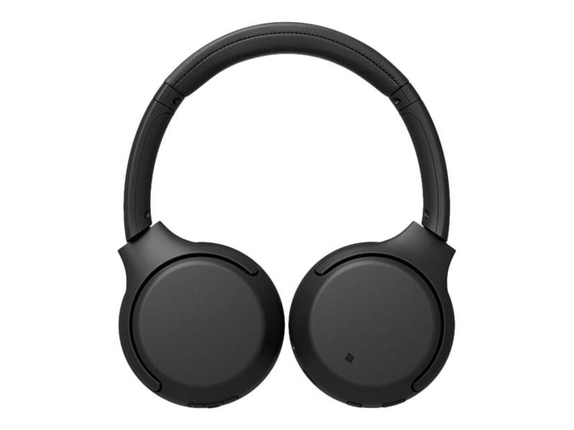 Sony WH-XB700 trådlösa hörlurar med mikrofon Svart