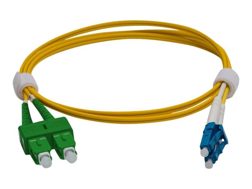 Pro Optix Koblingskabel LC/UPC SC/APC OS1 1m