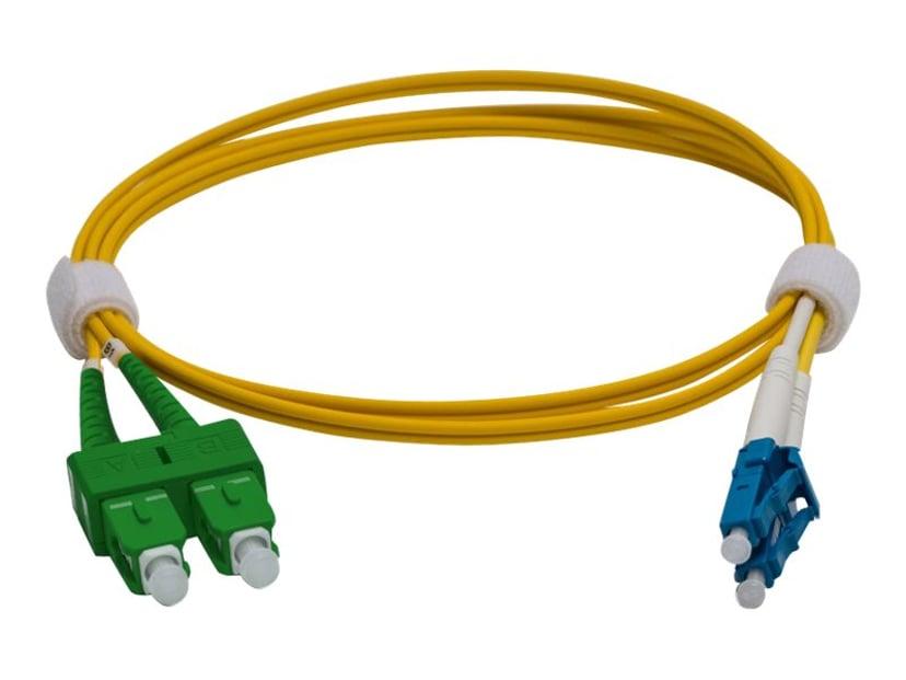 Pro Optix Koblingskabel LC/APC SC/APC OS1 5m