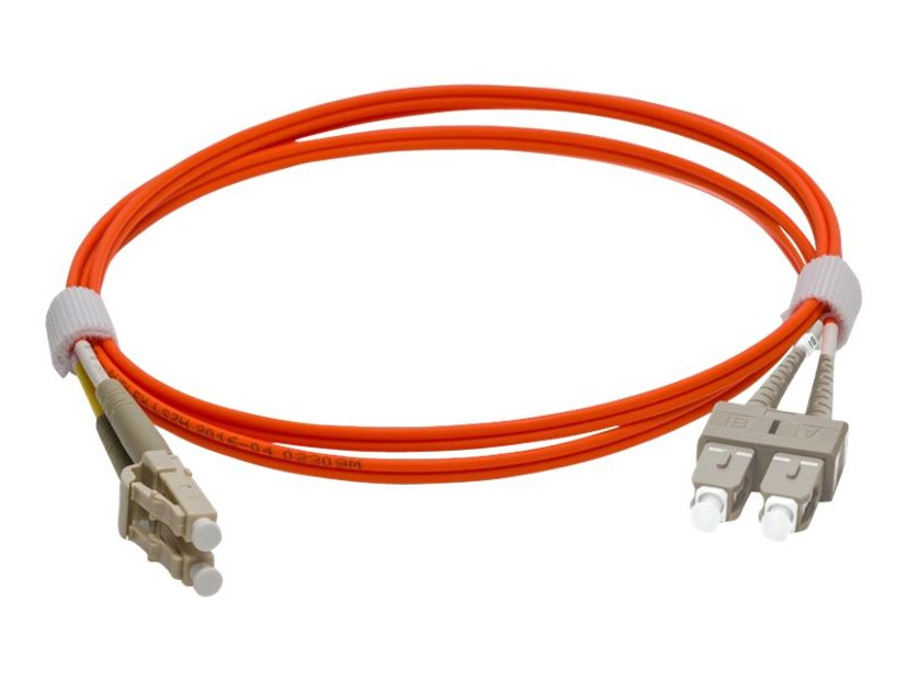 Pro Optix Koblingskabel SC/UPC LC/UPC OM1 1m