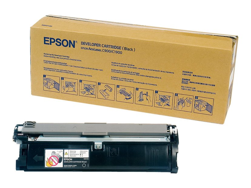 Epson Toner Svart 6k - AL C900/C1900