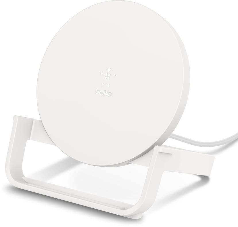 Belkin Qi Wireless Charging Stand 10W Wit