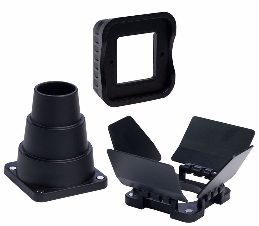 Lume Cube Lumecube Modification Frame + Snoot + Barn Doors