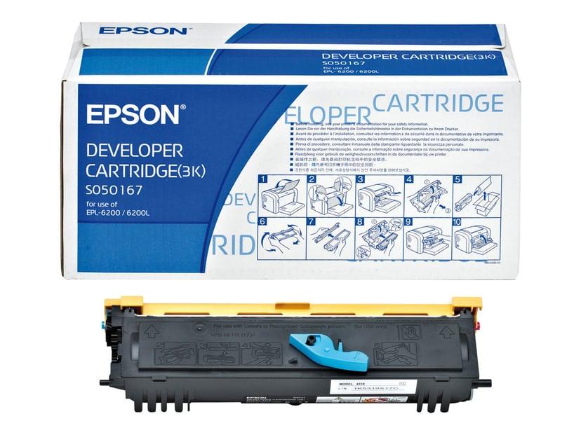 Epson Toner Sort 3k - EPL-6200
