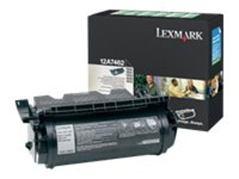 Lexmark Värikasetti Musta 21k - T630/T632/T PREPAID