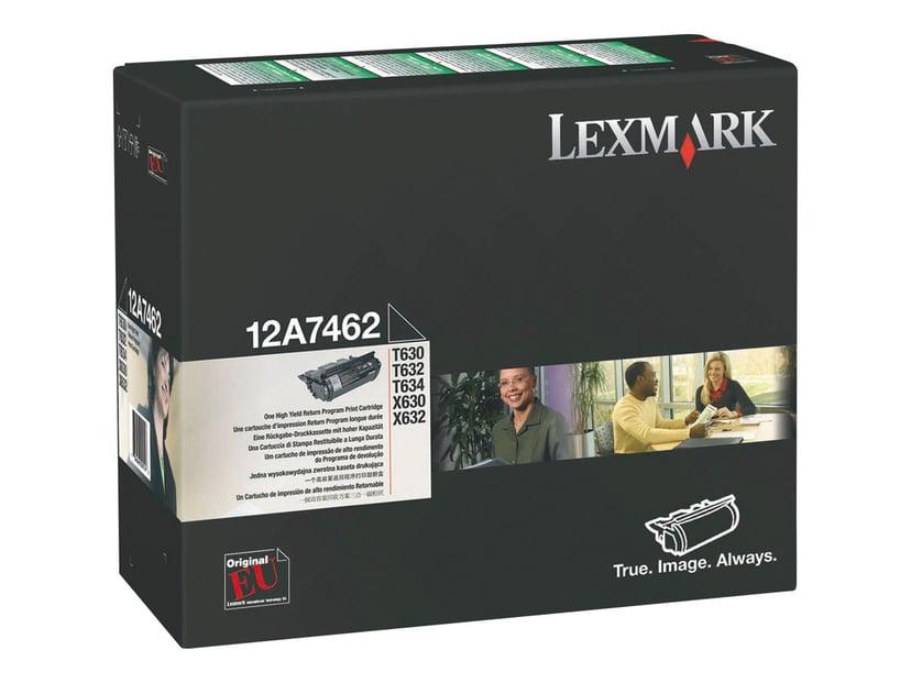 Lexmark Toner Svart 21k - T630/T632/T PREPAID
