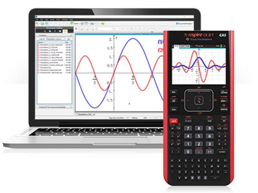 Texas Calculator TI-Nspire CX II T CAS + Program