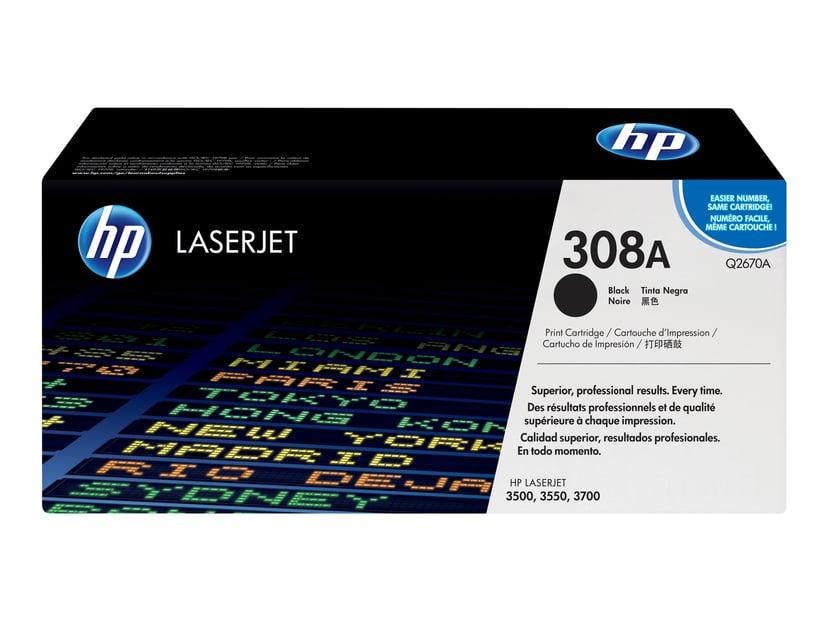 HP Värikasetti Musta - CLJ 3500/3700