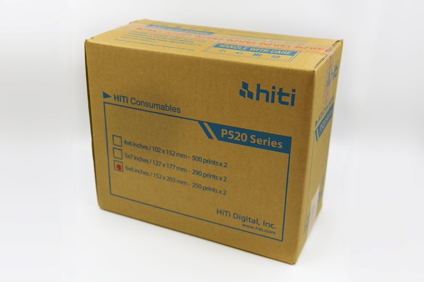 Hiti Färgband/Papper G2 15x20 500 Utskrifter - P520L/P525L
