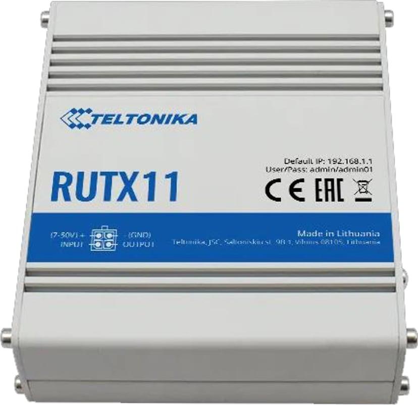 Teltonika RUTX11 LTE CAT6 Industrial Cellular Router