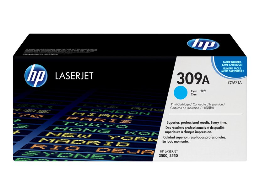 HP Värikasetti Syaani - Q2671A