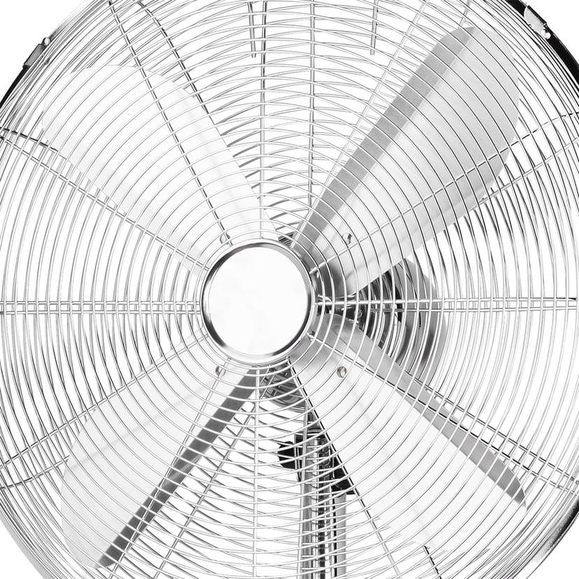 Emerio Floor Fan 40cm Stand In Wood