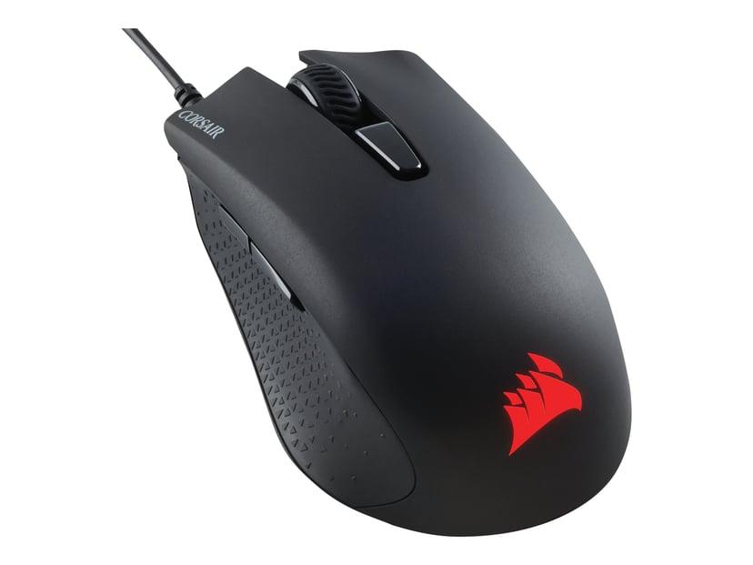 Corsair Harpoon RGB Pro 12000 dpi Optical Gaming Mouse Svart Mus Kablet 12,000dpi
