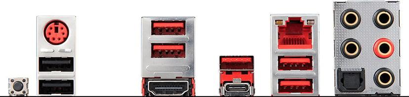 MSI Mpg X570 Gaming Plus S-AM4 Hovedkort ATX