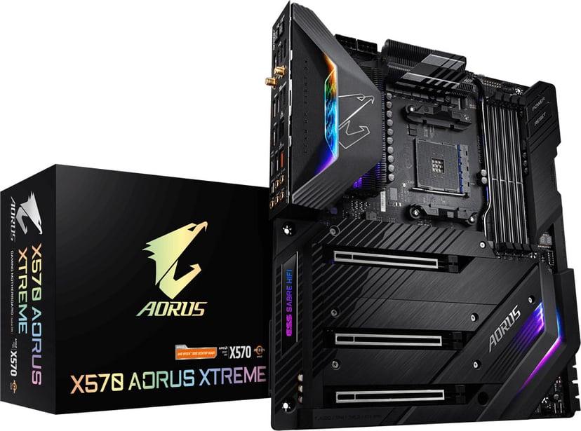 Gigabyte X570 Aorus Xtreme S-AM4 E-ATX Laajennettu ATX