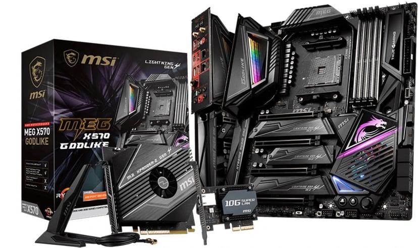 MSI Meg X570 Godlike S-AM4 E-ATX Utökad ATX Moderkort