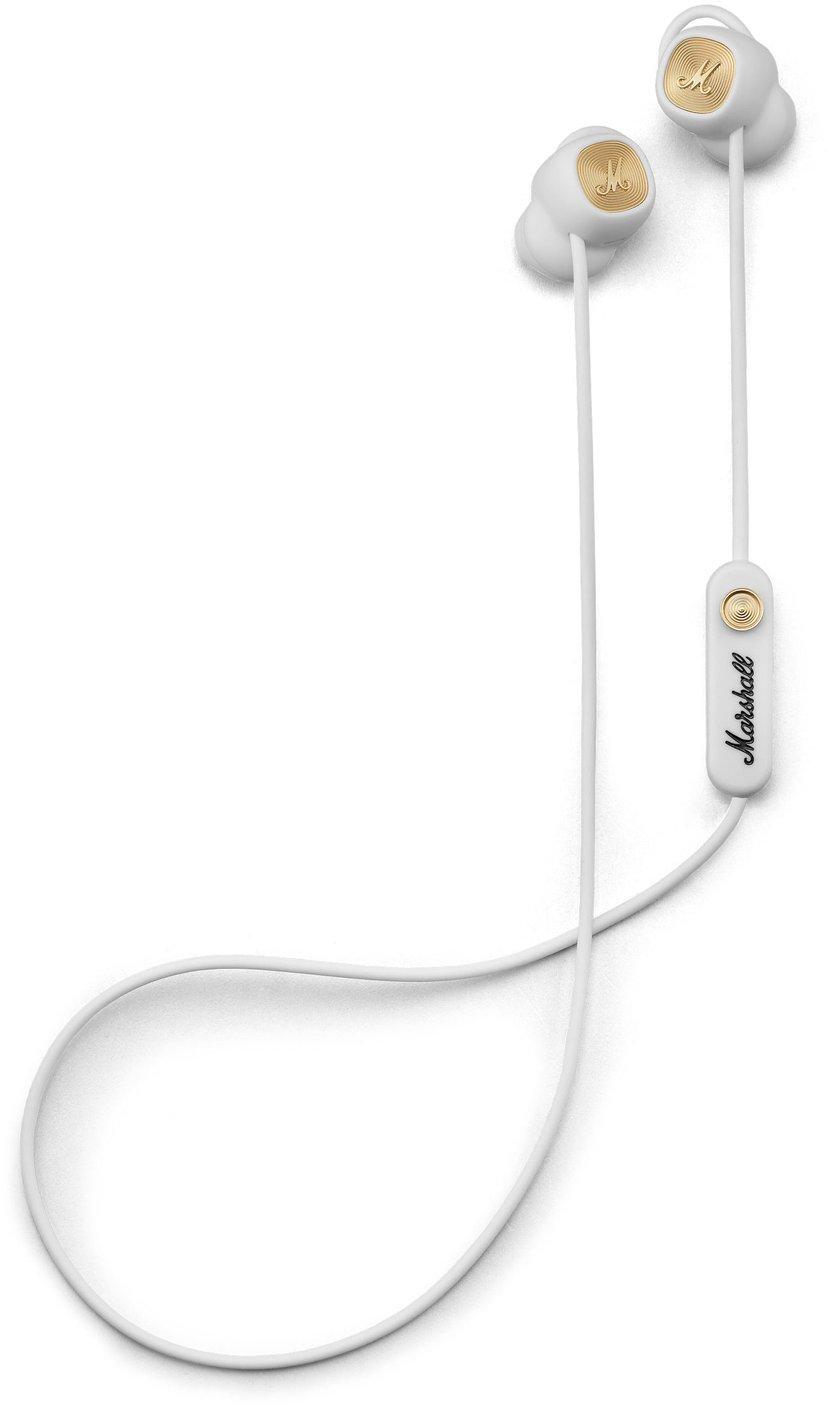 Marshall Minor II Bluetooth Gull; Hvit