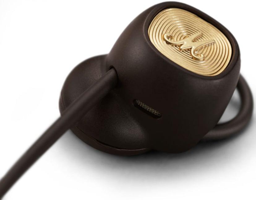 Marshall Minor II Bluetooth Brun, Guld