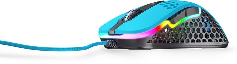 Xtrfy Xtrfy M4 RGB 16,000dpi Mus Kabelansluten Blå