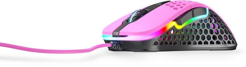 Xtrfy Xtrfy M4 RGB 16,000dpi Mus Kabelansluten Rosa