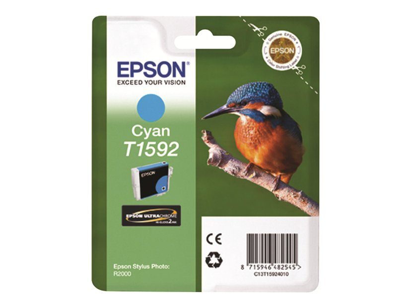 Epson Bläck Cyan T1592 - R2000