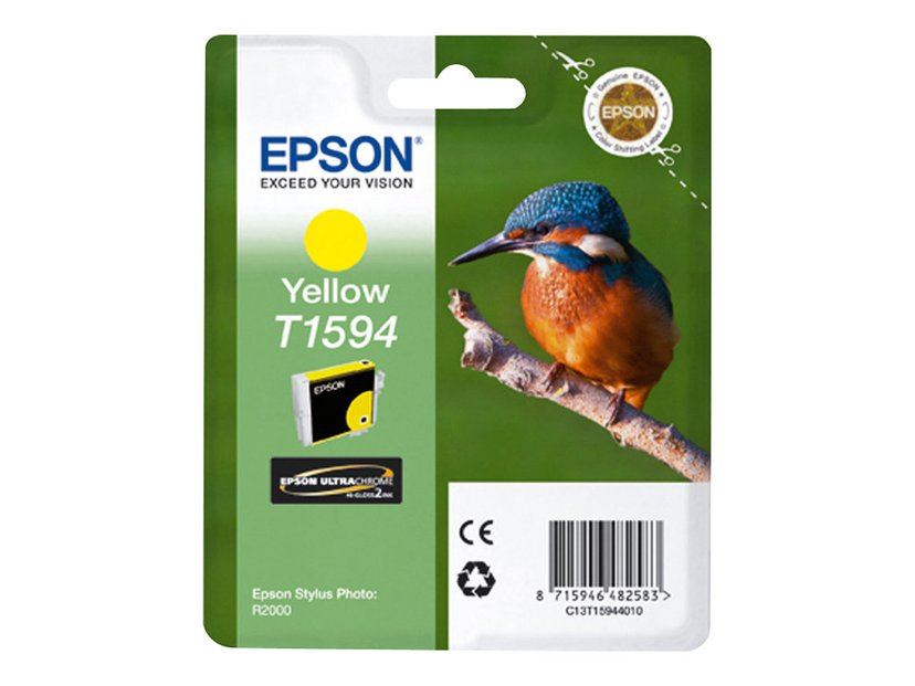 Epson Bläck Gul T1594 - R2000